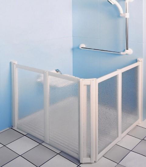 Mampara de ducha para discapacitados for Duchas para minusvalidos