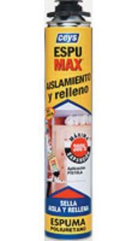 Espumas de poliuretano espumax pistola para aislar y rellenar - Espuma para relleno ...