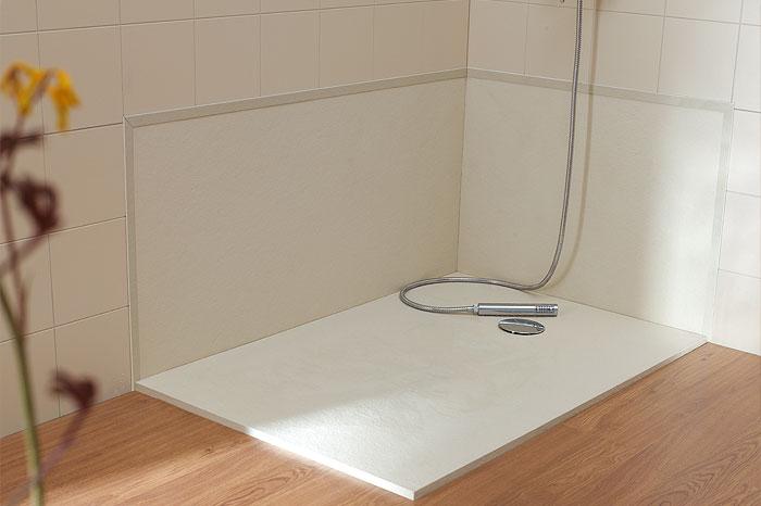 Plato de ducha de silex para ba os elegantes y modernos - Fiora platos de ducha precios ...