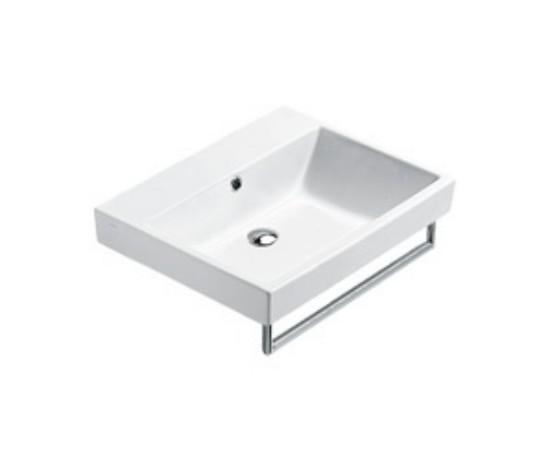 Lavabo suspendido o sobre encimera catalano zero 60 2 6bze - Altura de lavabo suspendido ...