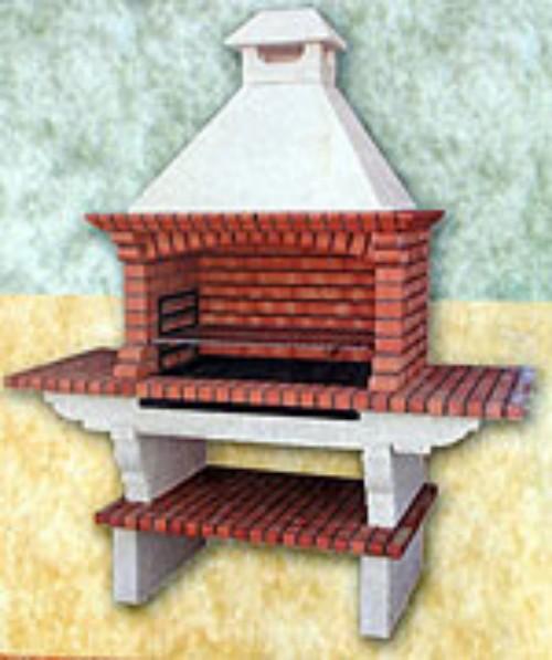 Barbacoas tradicionales con boca de 90 cm fabricadas en ladrillo - Barbacoa de ladrillo ...