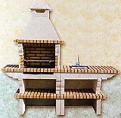Asadores de carne ladrillo httpwwwlacasadelaconstrucciones - Construccion de chimeneas de ladrillo ...