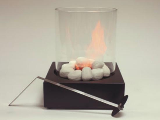 Biochimeneas con cristal de protecci n sin humos ni olores - Chimeneas de biocombustible ...