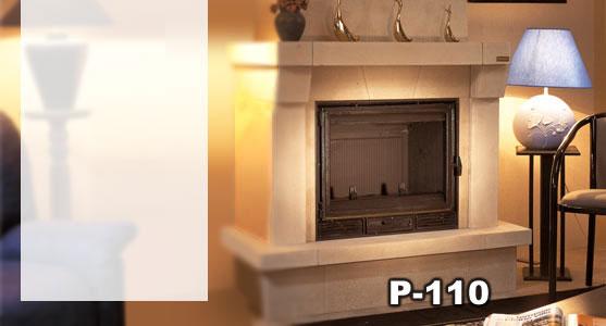 Revestimiento ref hergom modelo p 110 490101906 for Revestimiento para chimeneas insertables