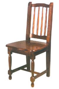 Sillas cl sicas de madera de pino for Ver modelos de sillas de madera