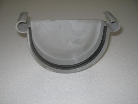 Tapas para canal de plastico instalado en alero - Canalones de plastico ...