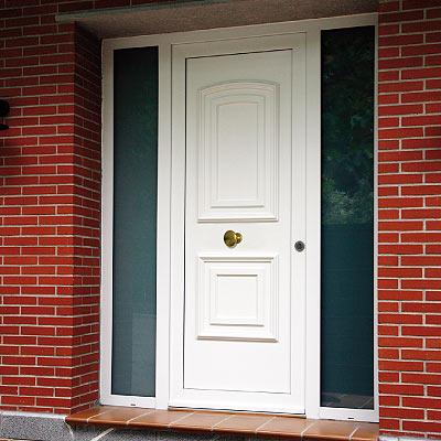 Puerta principal ciega hermet 10 - Puertas de exterior de pvc ...