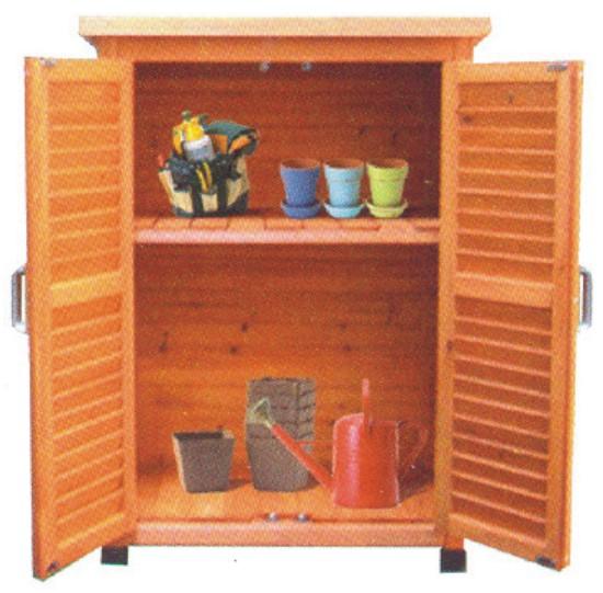 Armarios de madera para guardar herramientas - Armario para jardin ...