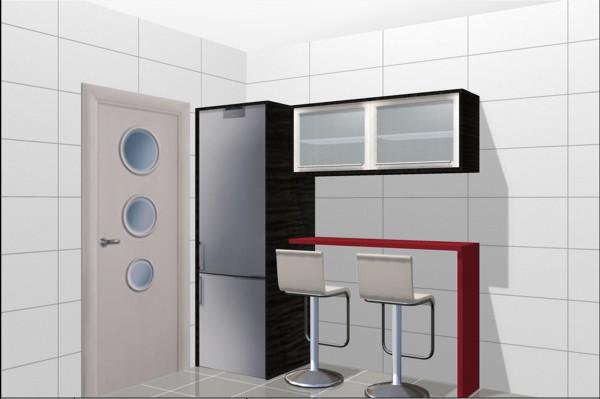 Cocina 6 para para peque o apartamento for Cocina apartamento pequeno