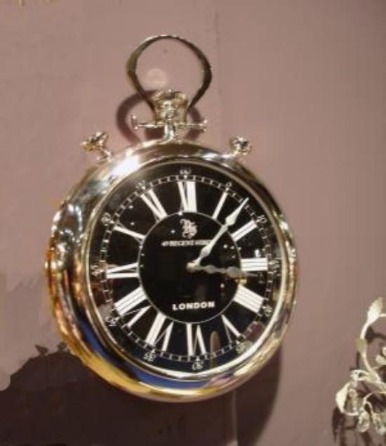 Relojes de pared con forma de relojes de bolsillo - Reloj de pared diseno ...