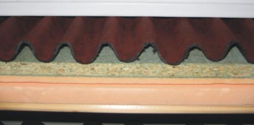 List n de pvc para apoyo de tejas mixtas planas o de cemento - Precio onduline bajo teja ...
