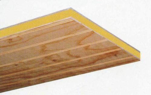 Panel sandwich con acabado interior en pino natural - Tableros de pino ...