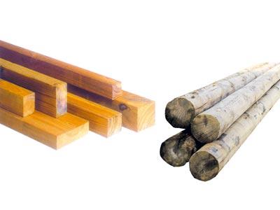 Viga de madera laminada ref mf 490600033 - Estructura madera laminada ...
