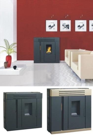 Estufas de pellets estrechas para pasillos - Estufas de pellets para pisos ...