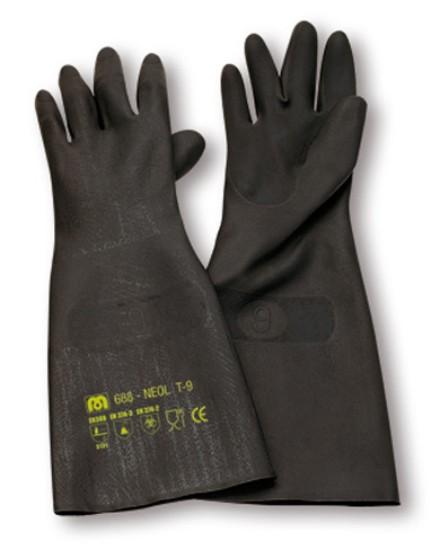 guantes largos de neopreno negro para trabajar con productos quimicos 3e47fc97dbd
