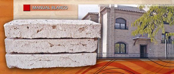 Ladrillo macizo manual adobe blanco caravista 030108014 - Precio ladrillo macizo ...