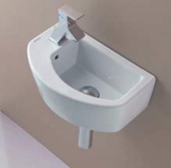 Lavabos Para Baño Medidas:Lavabo de baño para espacios reducidos