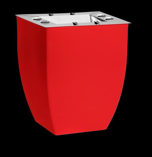 Ceniceros cuadrados opcionales para maceteros - Maceteros de resina ...
