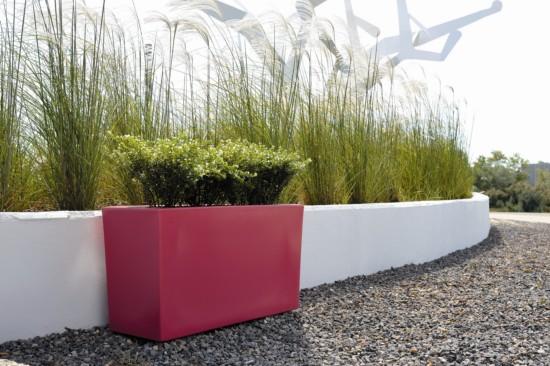 Jardinera ladrillos bloques hormigon jardineria alicante for Jardineras con bloques de hormigon
