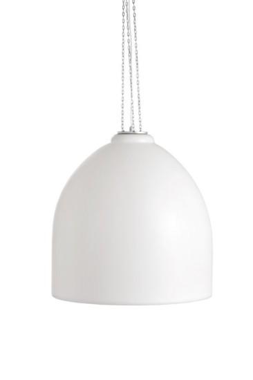 L mpara de techo en resina blanca de exterior - Lamparas de polietileno ...