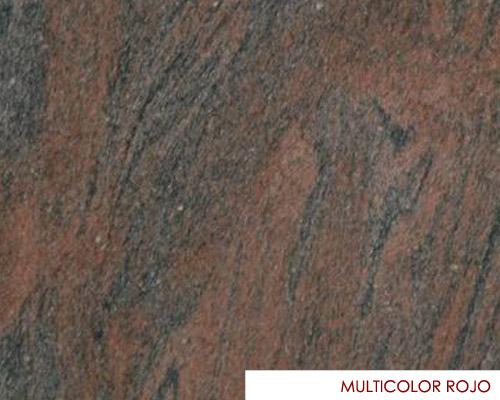 Granito multicolor rojo importacion 29me01931 for Granito importacion