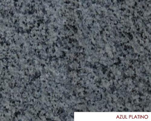 M rmoles nacionales azul platino for Granito nacional colores