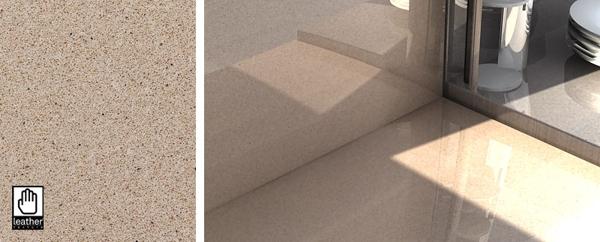 Cuarzo crema minerva silestone 430700924 for Silestone colores