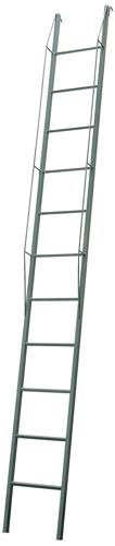 Escalera ref anpimaq met lica de 5mts con ganchos y for Escalera madera portatil