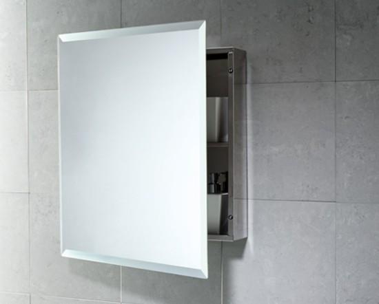 armarios de ba o con espejo en la puerta