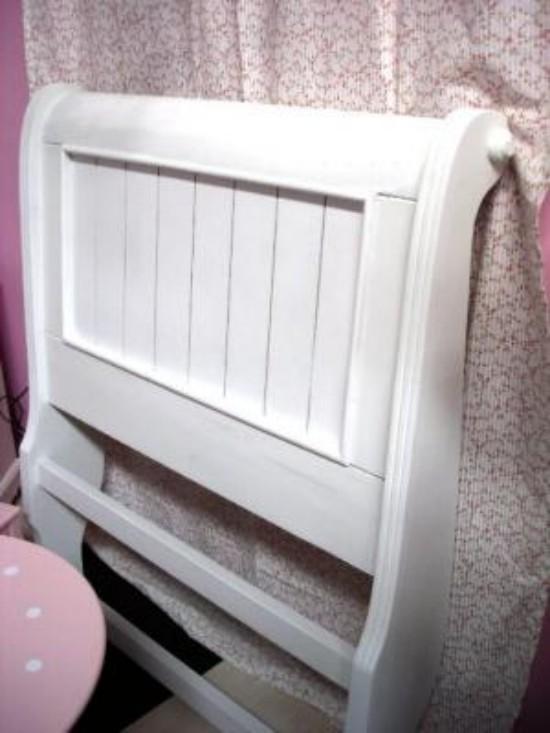 Cabeceros blancos para cama individual - Cabecero cama blanco ...