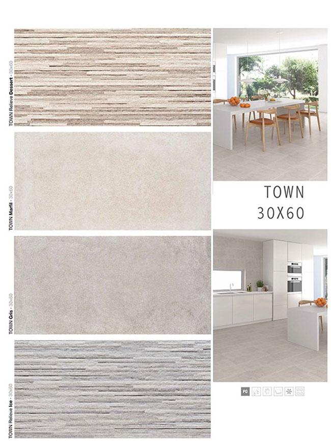 Porcelanico serie town relieve ice 30x60 mykonos ref - Mykonos ceramica ...