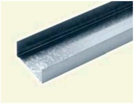 Perfiles horizontales para tabiques y trasdosados de pladur for Medidas perfiles pladur