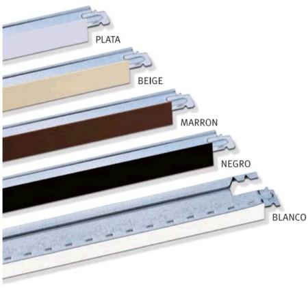 Perfiles secundarios para techos registrables de pladur - Techos registrables pladur ...