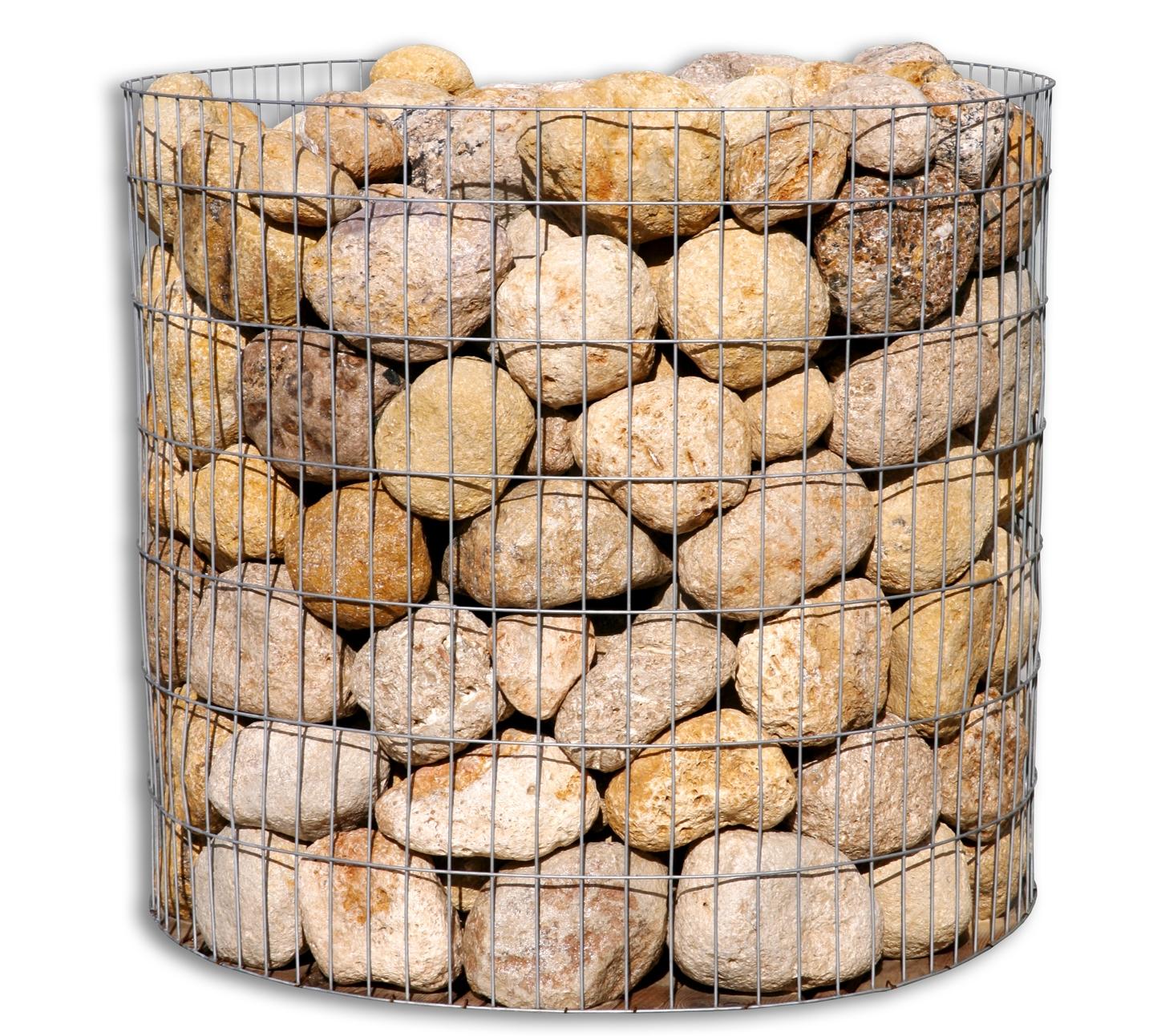 Piedra amarilla oro decorativa jard n - Piedras para construccion ...