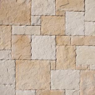 Piedra castillo iberico blanco tierra est 030303041 - Piedra artificial para fachadas ...