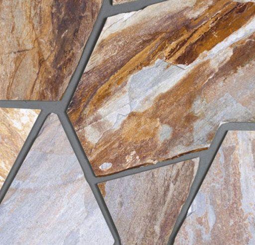 Piedra laja cuarcita marina irregular amarilla 030301001 - Pavimentos de piedra natural ...
