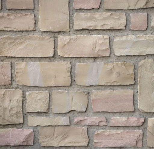 Piedra tocho crema salmon 10 12 030301907 - Piedra natural para paredes ...