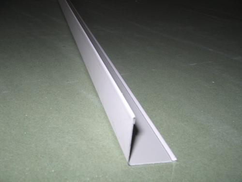 Perfiles angulares blancos para techos desmontables de pladur for Perfiles techo desmontable