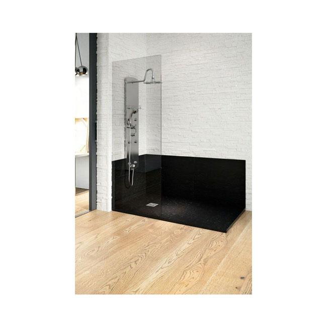 Plato de ducha extraplano de ancho 90 cm de raltex for Plato ducha pizarra blanco