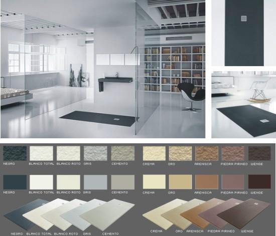 Platos de ducha para ba os elegantes y modernos - Platos de ducha modernos ...