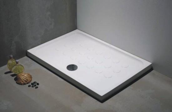 Plato de ducha de porcelana blanca - Plato de ducha porcelana ...