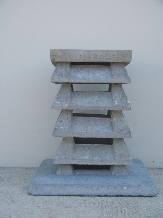 Remate de chimenea cuadrado para ventilaci n - Barbacoa de hormigon ...