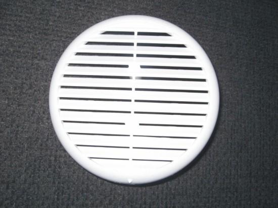 Rejillas redondas de ventilaci n con malla - Rejilla de ventilacion regulable ...