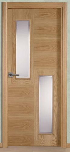 Puertas madera y cristal puertas madera y cristal foto for Puertas interiores de madera con vidrio