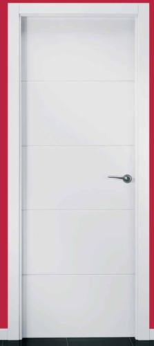 Puerta de interior uvt5 119000111 for Puertas de paso de cristal