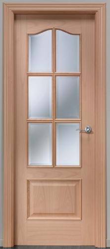 Puerta de interior 32 6vm 119000090 for Modelos de puerta de madera para casa