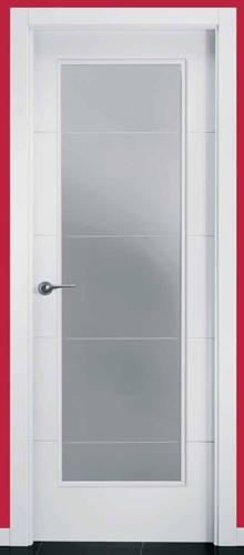 Puerta de interior uvt4 1v 119000112 - Cristal puerta salon ...