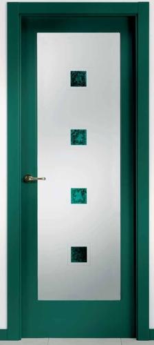 Puerta de interior ur11 2vx 119000140 Puertas de madera decoradas