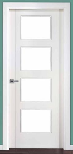 Puerta de interior us204 4v 119000132 for Puertas uniarte lacadas