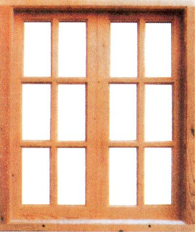 Ventanas r sticas de madera de pino for Ventanas en madera para interiores